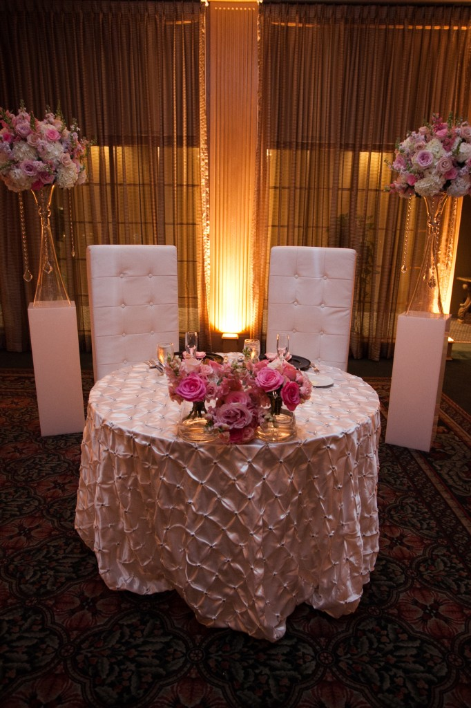 San Luis Wedding Reception Sweetheart Table