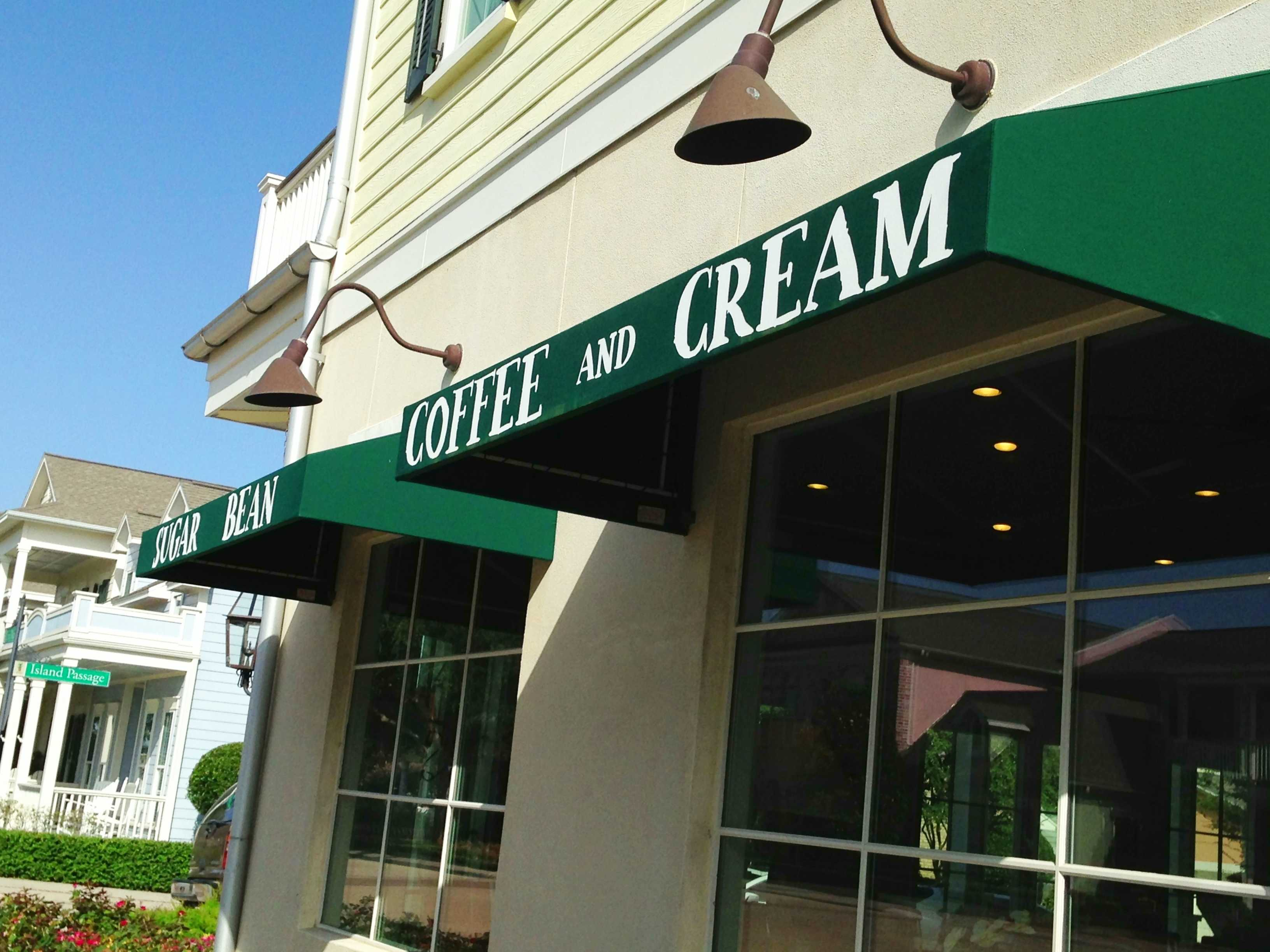 Galveston Coffee Shop: Sugar Bean Coffee and Cream Tour