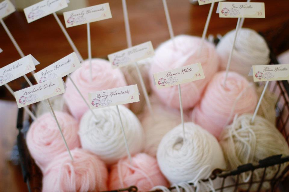 Yarn seating assignments
