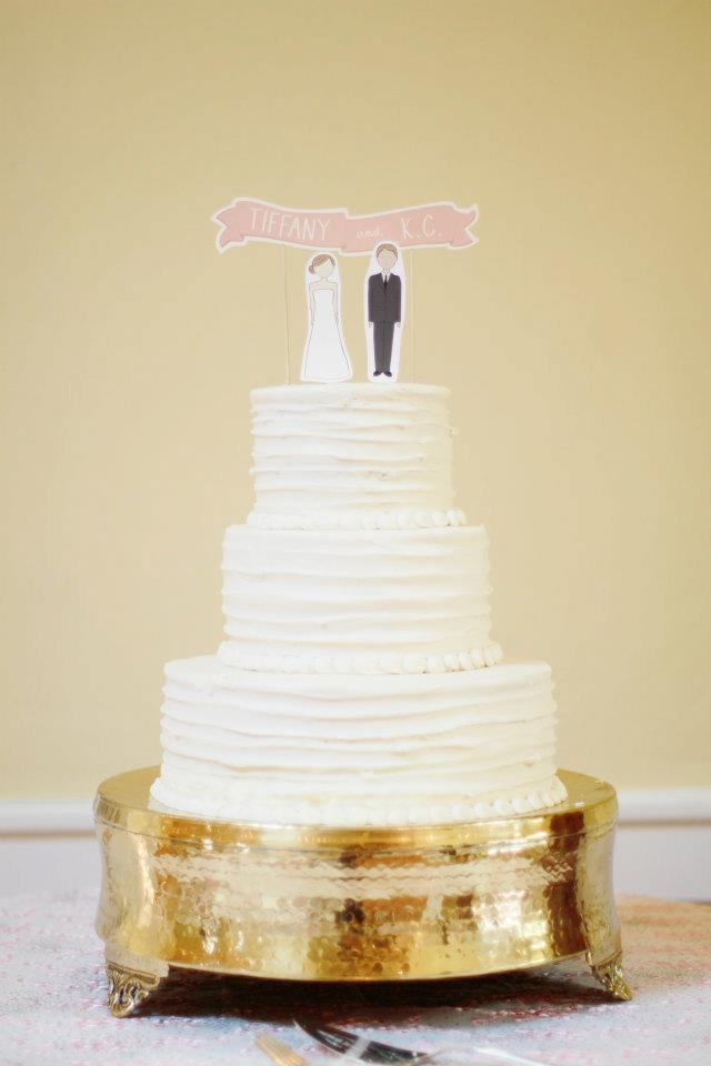 Galveston Wedding Cake by Cakes and Pretty Things