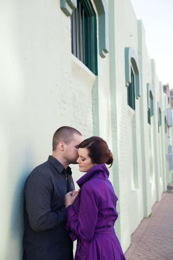 Galveston Strand Engagement Photos