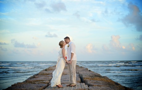 Galveston Beach Wedding 2