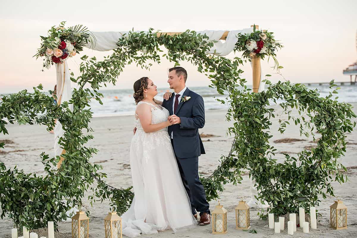 Galveston cruise wedding